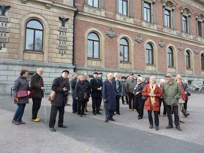 """Taata Sillanpään """"Noopelin"""" 75-vuotisjuhlamatka 16. - 19. lokakuuta 2014 Tukholmaan ja Uppsalaan"""